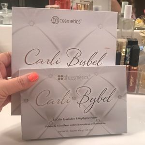 BH Carli Bybel original and deluxe palette set